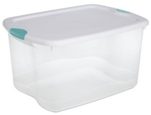 These Are A Lifesaver For Attic And Closet Storage. Easily Store Holiday  Items, Clothes, Shoes, Etcu2026 In These Bins And Label. Assorted Colors Make  It Easy ...